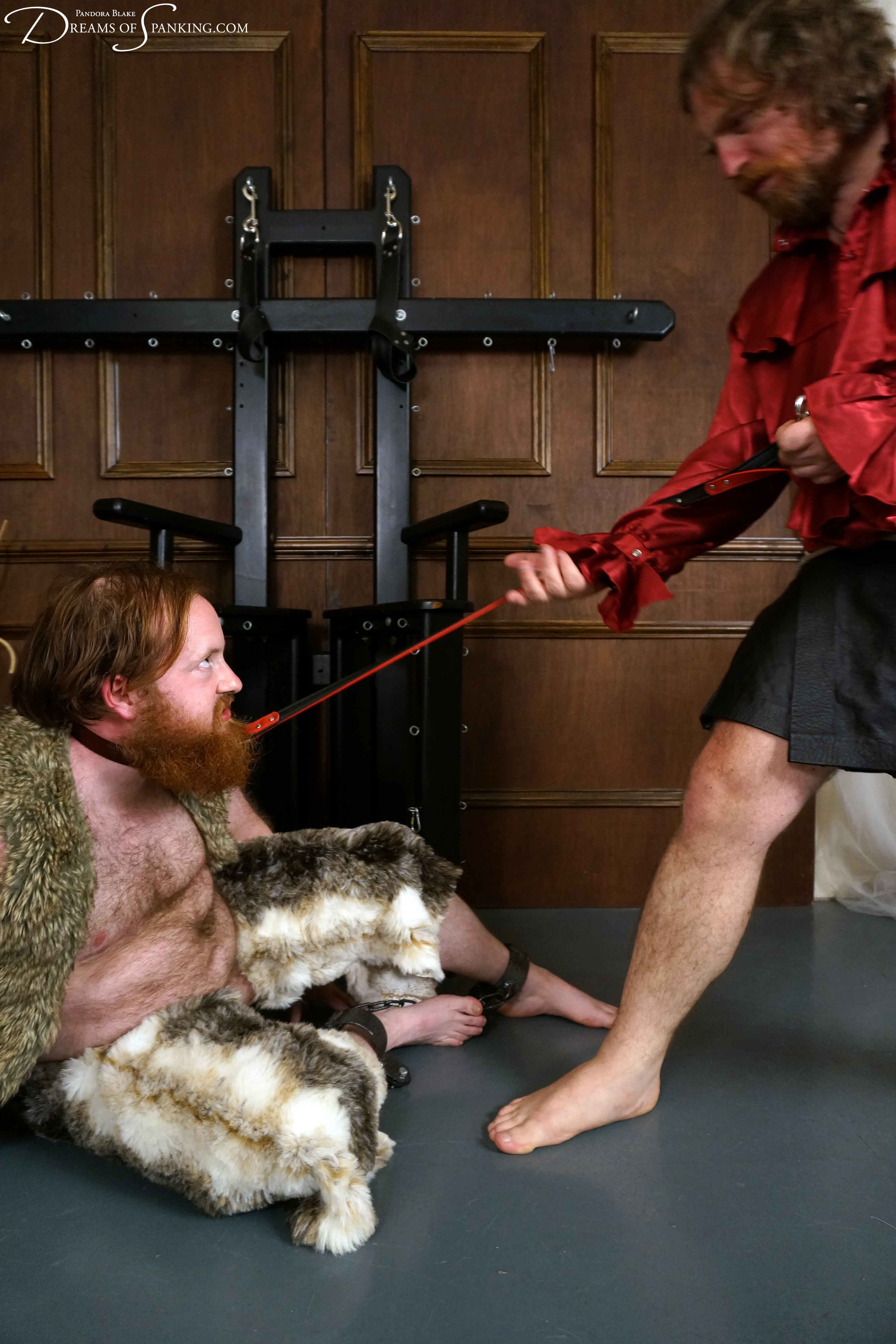 The Beastmaster - Ron Beastly and Seani Love at Dreams of Spanking