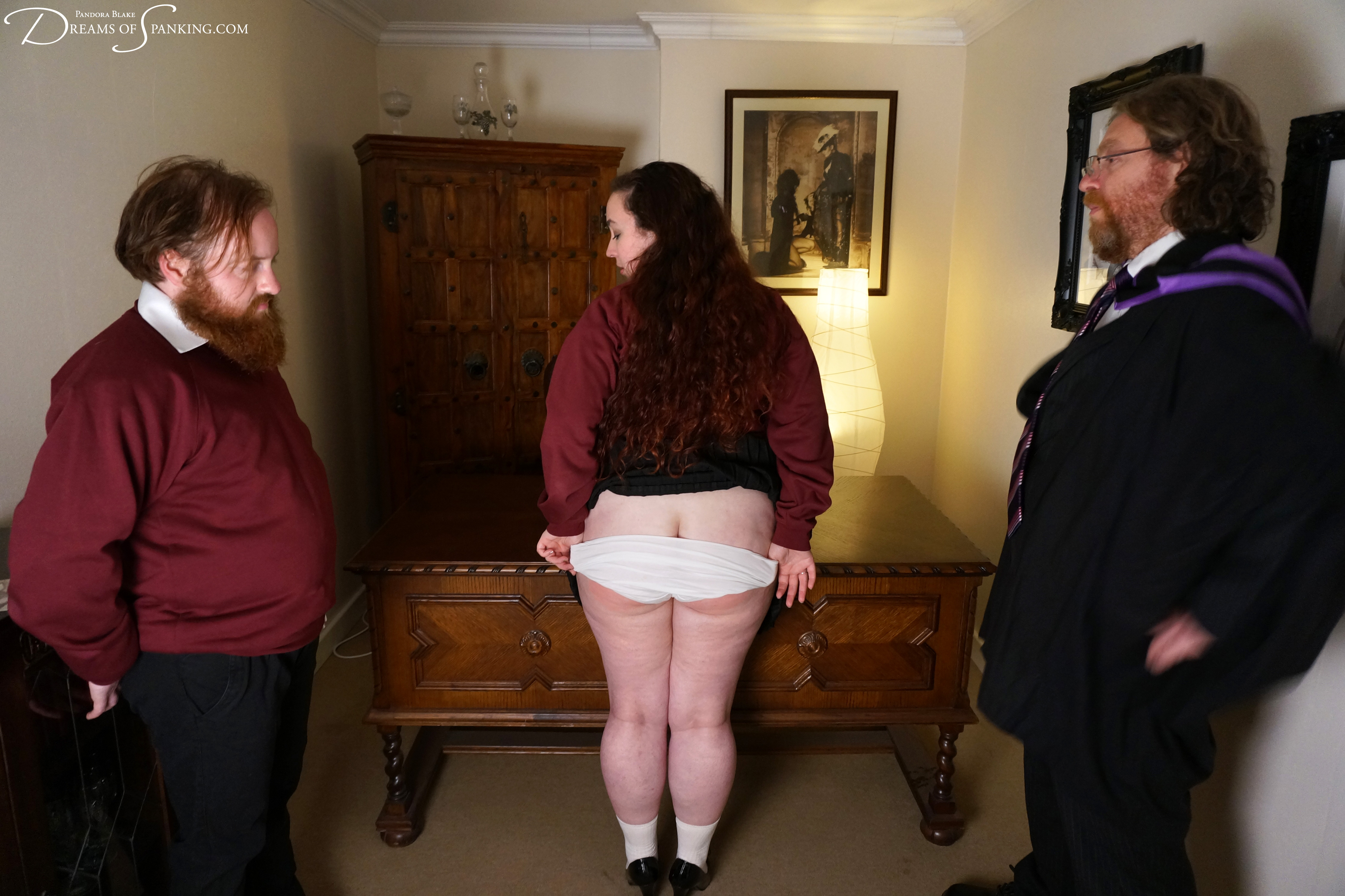 Ron Beastly, Seani Love and Nimue Allen at Dreams of Spanking