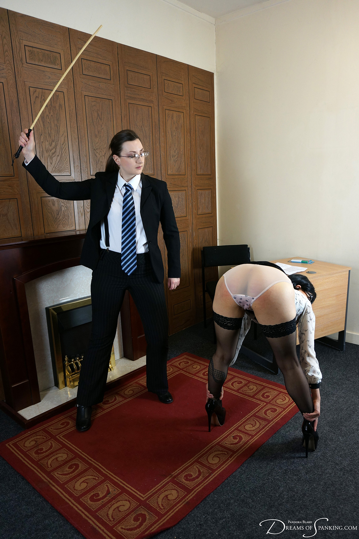 Ms Vixxxen photographed by Pandora Blake for Dreams of Spanking