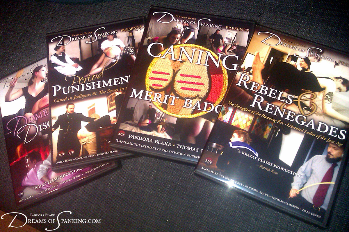 DVDs from Dreams of Spanking