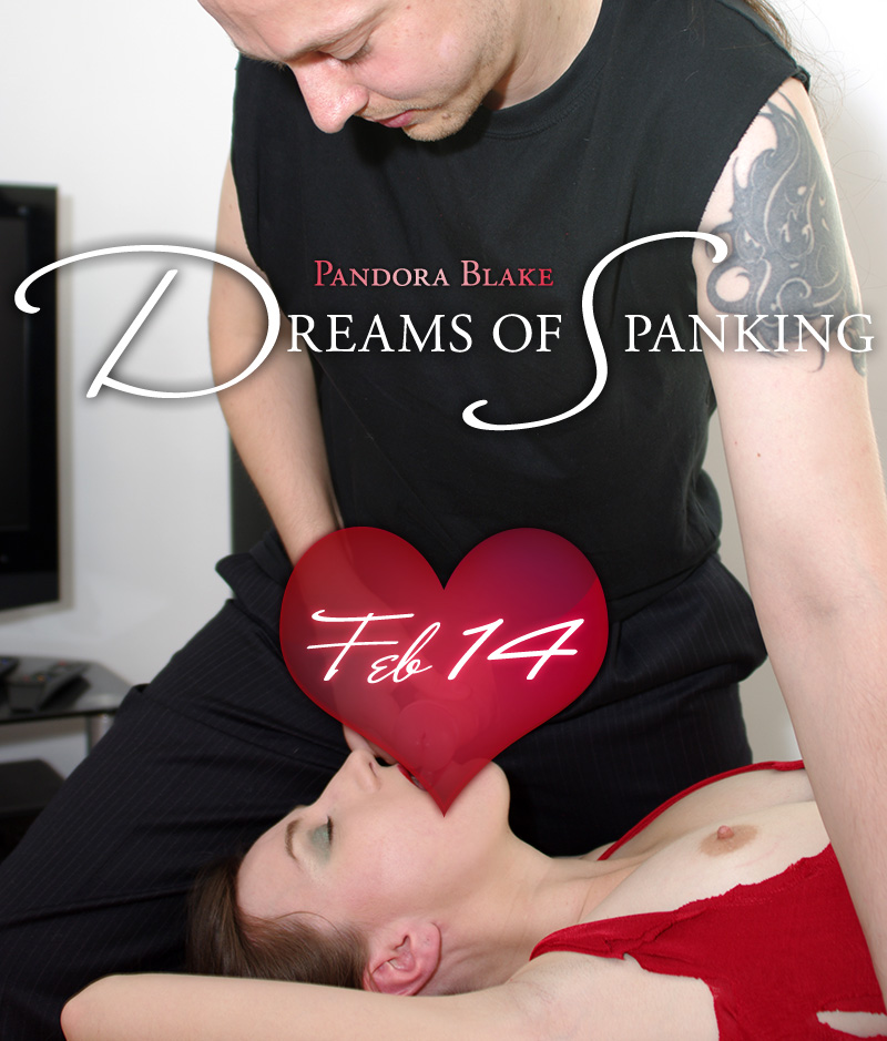 Valentines Day special at Dreams of Spanking - coming soon