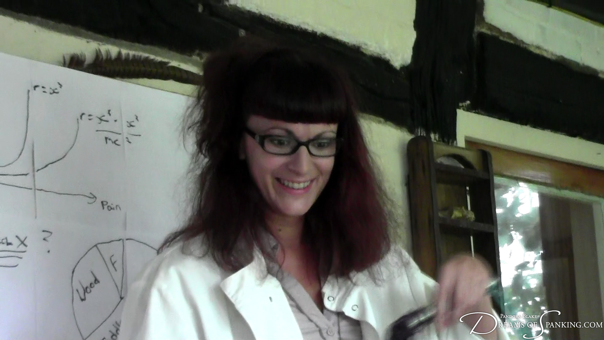 Leia-Ann Woods is a Doctor of Pain at Dreams of Spanking