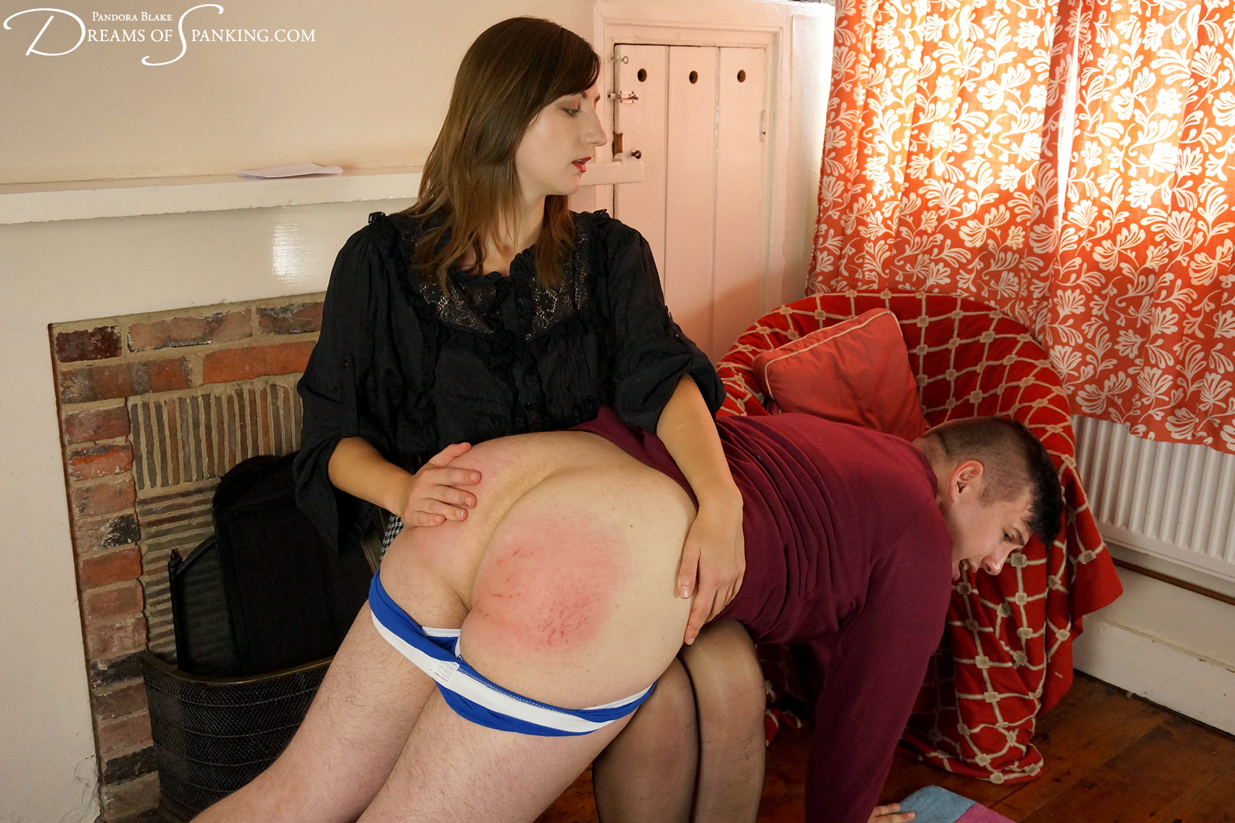 Hairbrush aunt stories spank