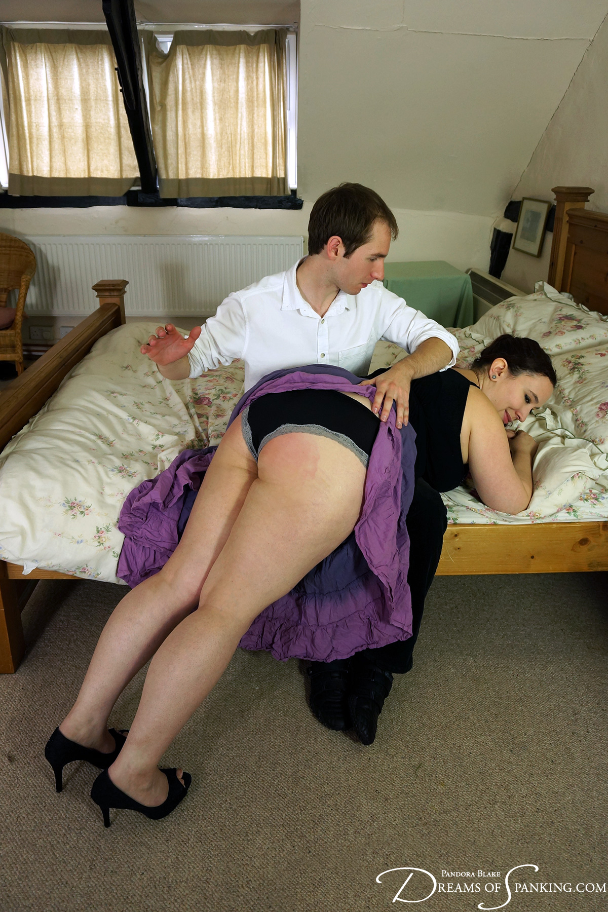 Andrew Shada and Nimue Allen at Dreams of Spanking