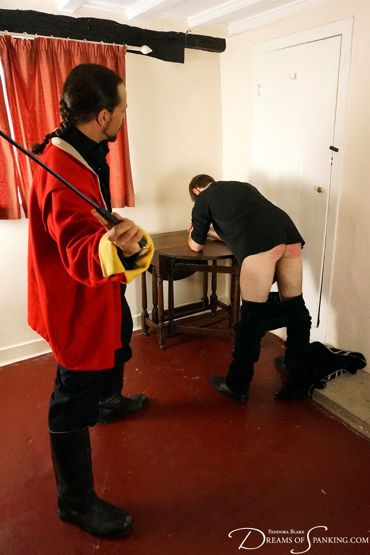 Historical military discipline at Dreams of Spanking
