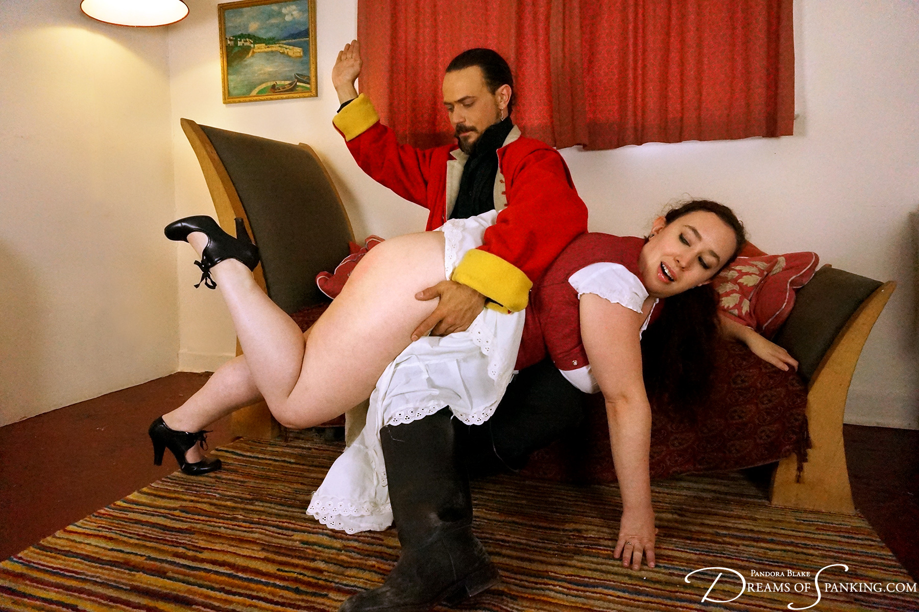 Historical spanking drama at Dreams of Spanking