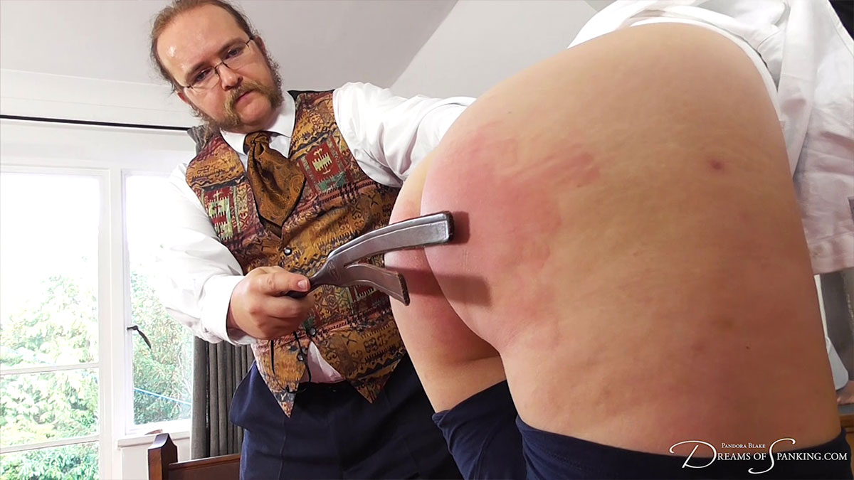 Pandora Blake gets the tawse at Dreams of Spanking