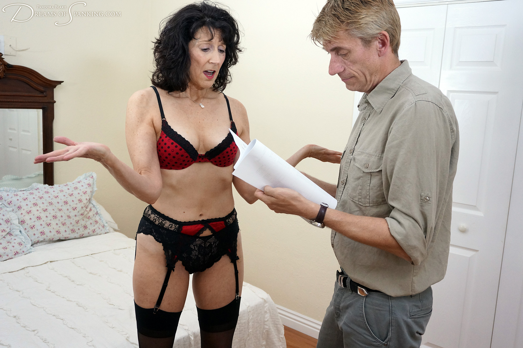 Erica Scott and Paul Kennedy for Dreams of Spanking