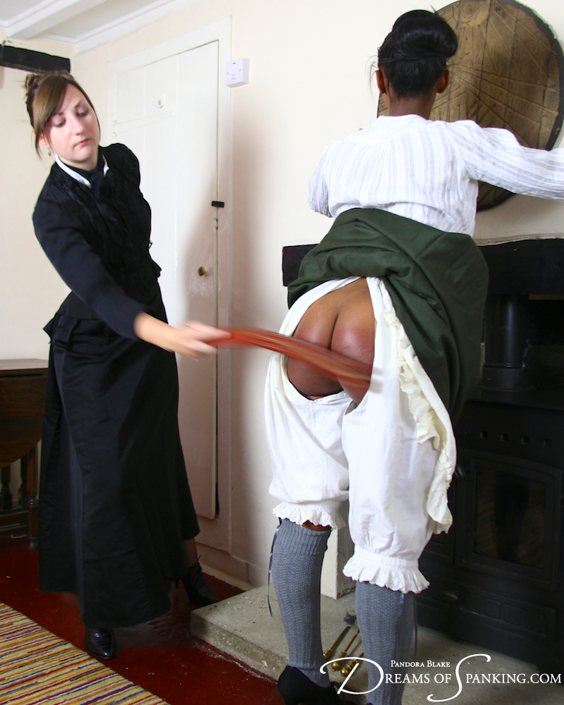 Victorian discipline for Lola Marie at Dreams of Spanking