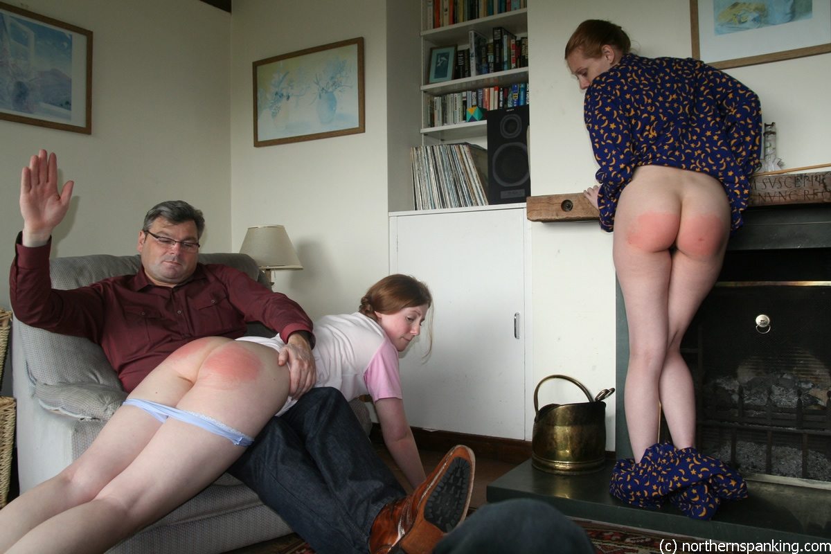 Love girls spanked by older women