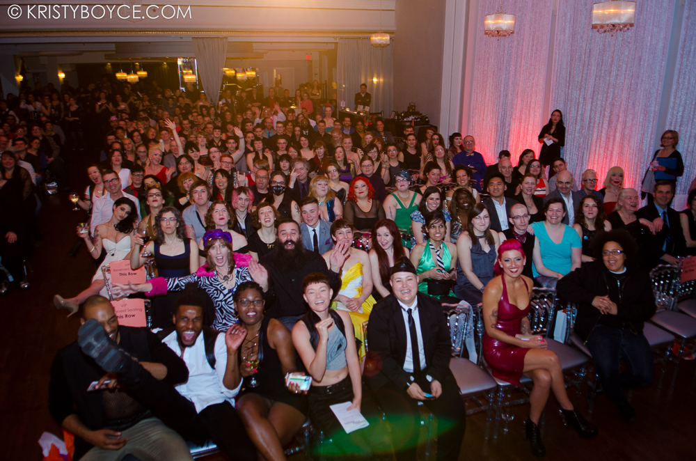 The audience at the Feminist Porn Awards and Gala 2014 - photo by Kristy Boyce
