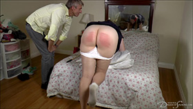 Alex's Sponsored Caning at Dreams of Spanking