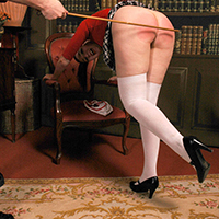 College girl punished: a hot library fantasy by Dreams of Spanking