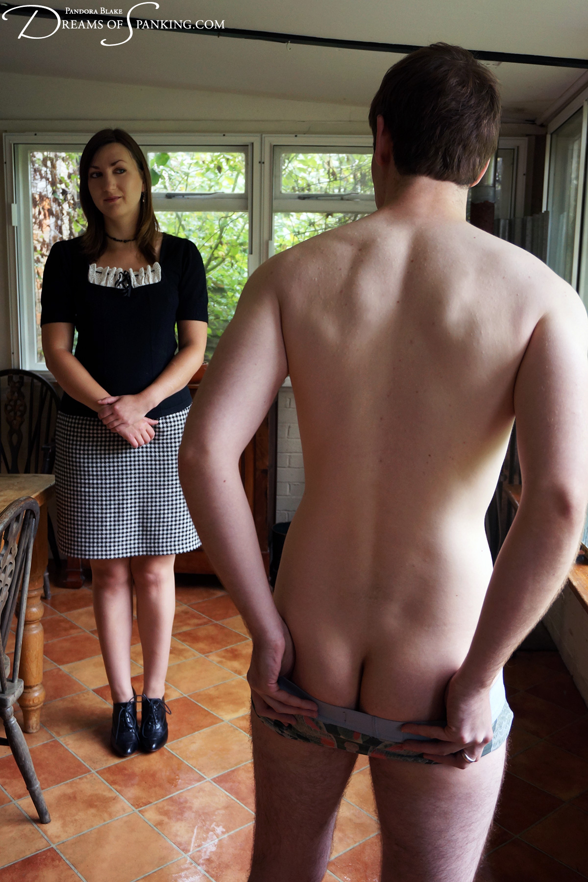 The Spanked Houseboy at Dreams of Spanking