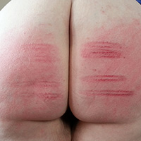 Behind the scenes photo 2 from Jillian's Sponsored Caning at Dreams of Spanking