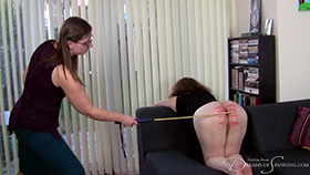 Michelle's Sponsored Caning at Dreams of Spanking