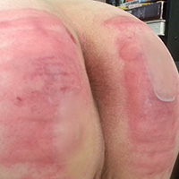 Behind the scenes photo 10 from Michelle's Sponsored Caning at Dreams of Spanking