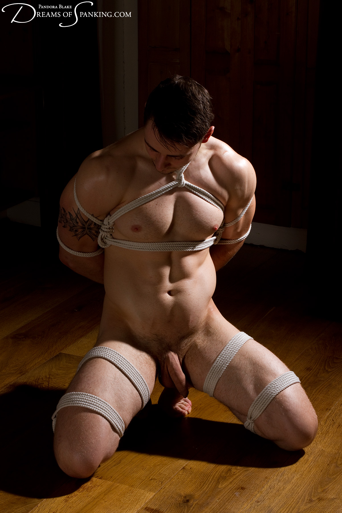 Brian Roped Tied And Spanked