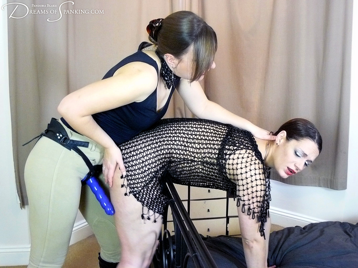 On Your Knees, starring Pandora Blake and Ten Amorette