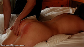Pandora's Sponsored Caning at Dreams of Spanking