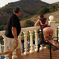 Spanking in Spain at Dreams of Spanking