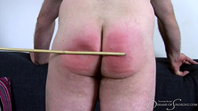 Vincent's Sponsored Caning at Dreams of Spanking