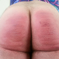 Behind the scenes photo 2 from Vincent's Sponsored Caning at Dreams of Spanking