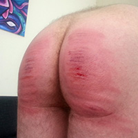 Behind the scenes photo 5 from Vincent's Sponsored Caning at Dreams of Spanking