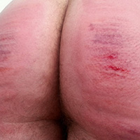 Behind the scenes photo 7 from Vincent's Sponsored Caning at Dreams of Spanking