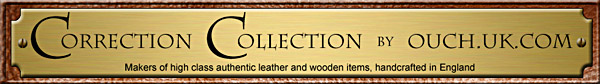 Correction Collection: Makers of high class authentic leather and wooden items, handcrafted in England
