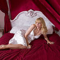 Preview thumbnail : Join the site to view Amelia in the Bedroom and all other spanking scenes