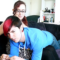 Join the site to view The Evil Babysitter and all other spanking scenes