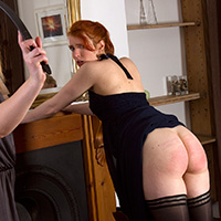 Join the site to view The Baroness' New Housegirls and all other spanking scenes