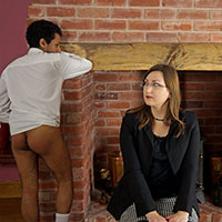 Join the site to view Behind the Bike Sheds and all other spanking scenes