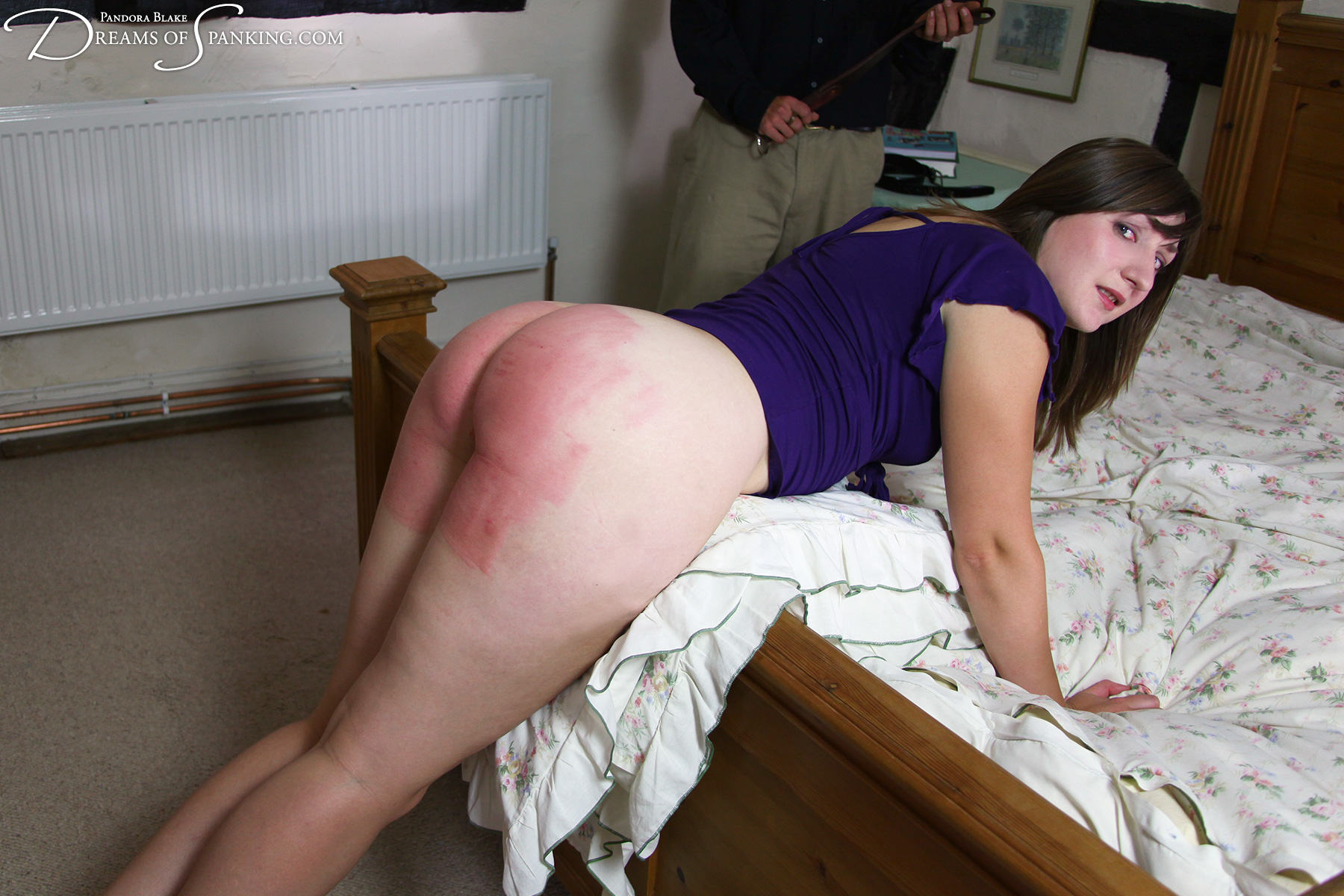 Painful ass whipping
