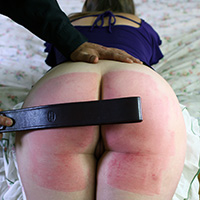 Join the site to view Pandora's Belt Whipping Fantasy and all other spanking scenes