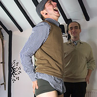 Join the site to view A Bet's a Bet and all other spanking scenes