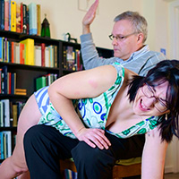 Preview thumbnail : Join the site to view In Big Trouble and all other spanking scenes