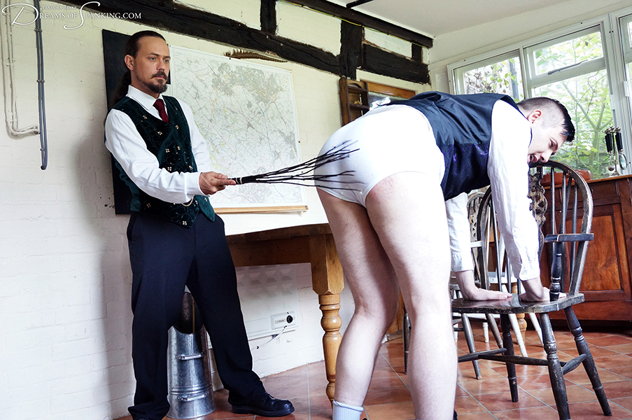 At the end of the school year, Michael is punished by his father, the headmaster.