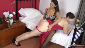 Join the site to view Pandora's Birthday Caning and all other spanking scenes