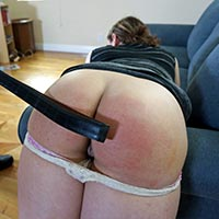 Join the site to view Blackmail Material and all other spanking scenes