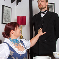 Preview thumbnail : Join the site to view Her Ladyship's Breakfast and all other spanking scenes