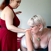 Join the site to view Bridezilla and all other spanking scenes