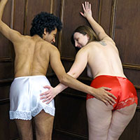 Preview thumbnail : Join the site to view Cami Knickers and all other spanking scenes