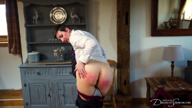 Join the site to view The Cane and the Curious and all other spanking scenes