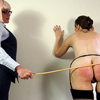 Behind the scenes photo 2 from Introducing: the Cane at Dreams of Spanking