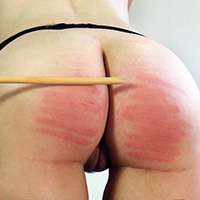 Behind the scenes photo 3 from Introducing: the Cane at Dreams of Spanking
