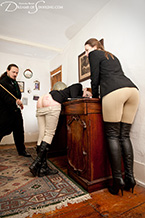 Caned in Jodhpurs
