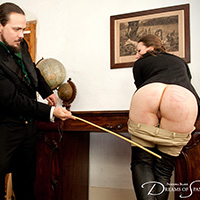 Join the site to view Caned in Jodhpurs and all other spanking scenes
