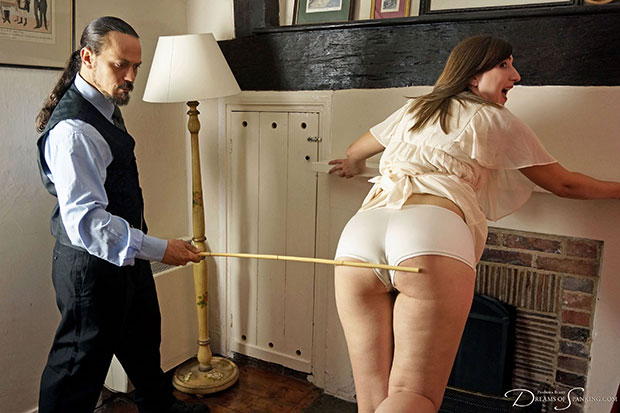 Click to view high-resolution preview image for Caned%20in%20the%20Parlour
